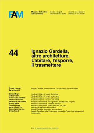 Copertina 44-2018 Gardella