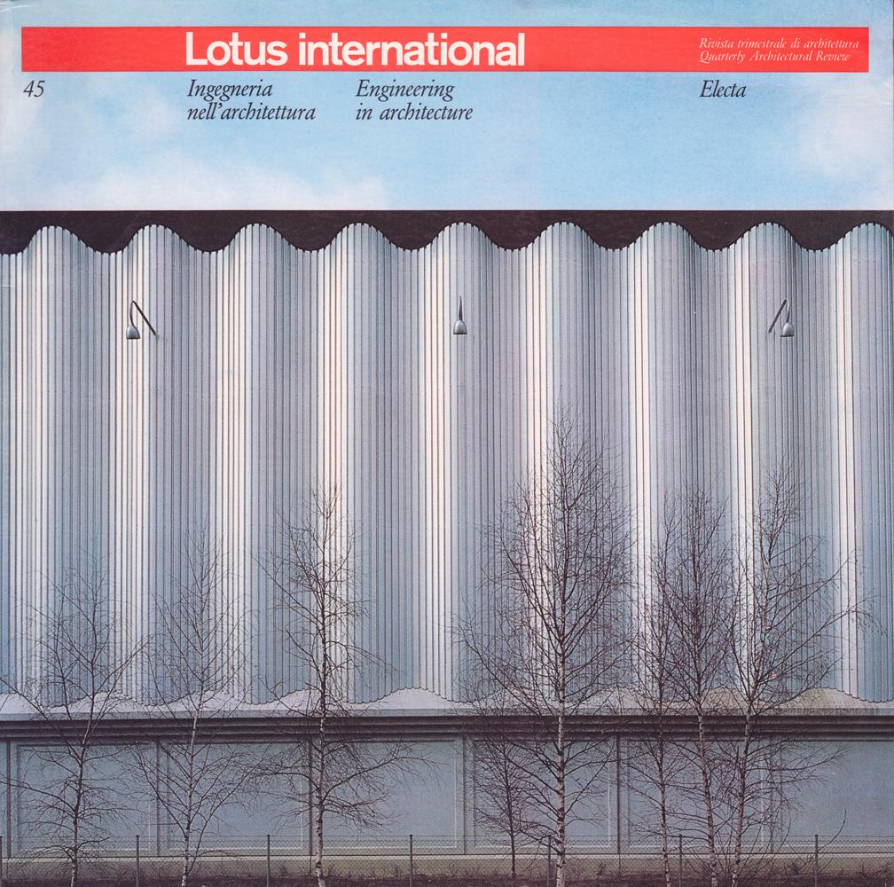 Architettura A Madrid lotus. i primi trent'anni di una rivista di architettura