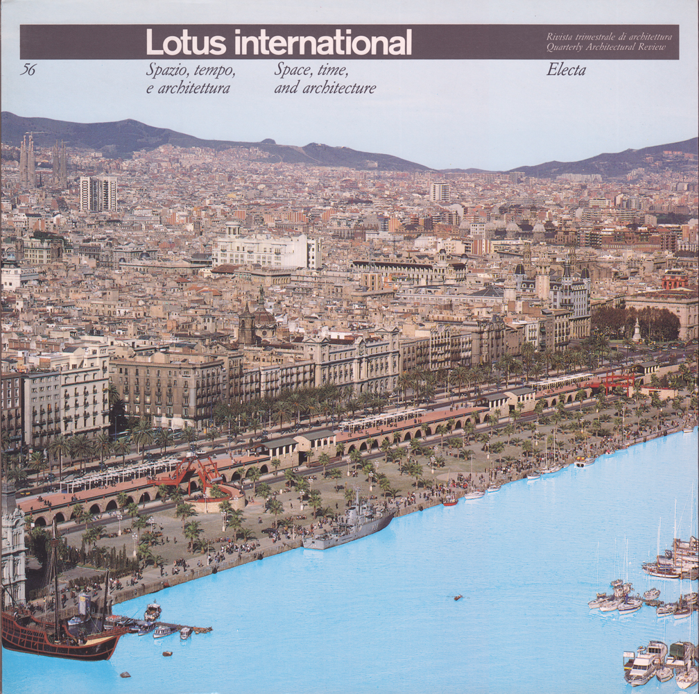 Opere Di Renzo Piano lotus. i primi trent'anni di una rivista di architettura